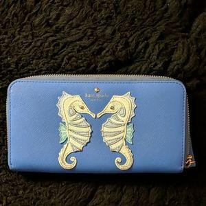 Kate Spade Breath of Fresh Air Seahorse Wallet